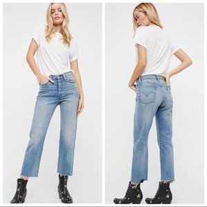 🆕 Free People x Levi's Wedgie Straight Jeans